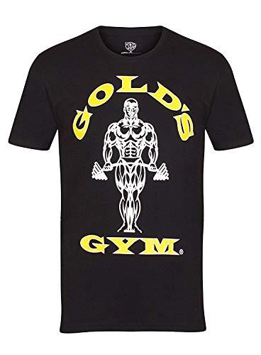 Golds Gym Herren T-Shirt Trainingsshirt Muscle Schwarz Gr. L