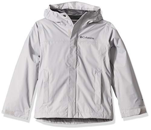 Columbia Boys' Big Watertight Jacket, Waterproof and Breathable, Slate Grey,...
