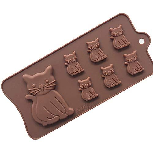 YK.Hapyshop Moule à gâteau, muffin, 25,5 x 11,8 x 0,8 cm