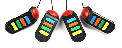 4 Sony Buzzer,Controller für Playstation 2 PS2 Neu