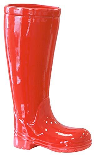 Paragüero fabricadas en cerámica roja 45 cm de alto