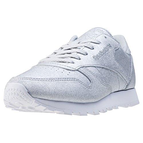 Reebok Cl Leather Syn Damen Sneaker Metallisch, Gr. 37 EU