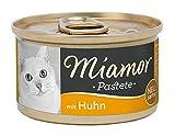 Miamor Comida para Gatos, Paste, Pollo, 12 Unidades (12 x 85 g)