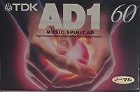 TDK オーディオ カセットテープ AD1 60分 AD1-60N