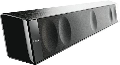 Focal Dimension Soundbar (Plug&Play Installation, HDMI mit ARC und CEC, Anpassbare Raumakustik) Schwarz