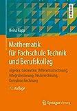 Mathematik für Fachschule Technik und Berufskolleg: Algebra, Geometrie, Differentialrechnung,...