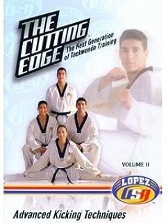 THE CUTTING EDGE Volume II - Advanced Kicking Techniques (VHS Videocassette PAL) The Next Generation of Taekwondo Training
