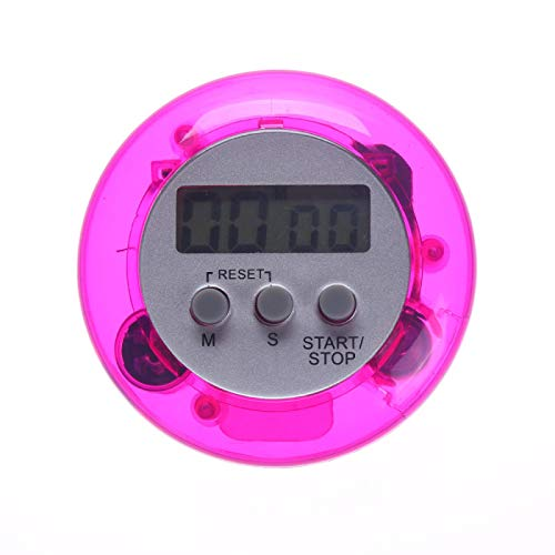 XYXZ LCD Numérique Cuisine Compte À Rebours Minuterie Magnétique Support Arrière Minuterie De Cuisson Compte À Rebours Réveil Cuisine Gadgets Outils De Cuisson Violet