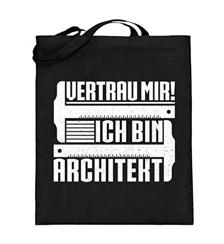 Chorchester Vertrau mir - Ich bin Architekt - Jutebeutel (mit langen Henkeln)