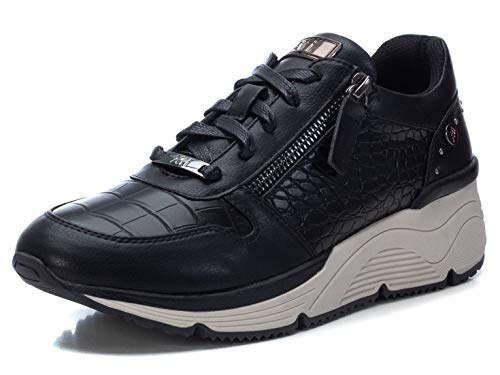 XTI 44733, Zapatillas Mujer, Negro, 37 EU