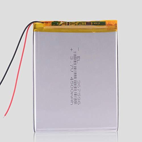 Dilezhiwanjuwu 367595 1pcs 3.7v 4500mAh Batería de polímero para portátil Bluetooth Consumer Electronics Safety PDA Tablet PCS Productos Digitales