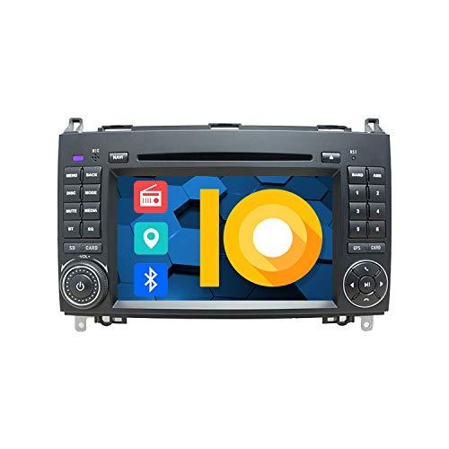 ZWNAV 7 pollici Doppio Din Lettore DVD Autoradio per Mercedes Benz Classe A Classe W169 / B Classe W245 / V Classe W639 / W906 Sprinter Navigazione GPS Bluetooth USB SD FM AM RDS SWC