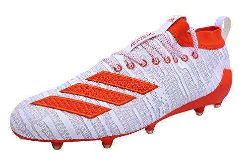 adidas Adizero 8.0 Cleats Men's, White, Size 13.5