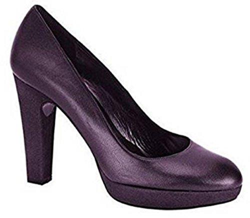 Singh s. Madan Pumps High Heels Leder - Farbe Beere Gr. 35
