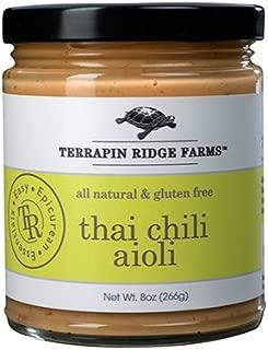 Terrapin Ridge Farms Sauce, Thai Chili Aioli, 8.5 Ounce Vegetable Dips