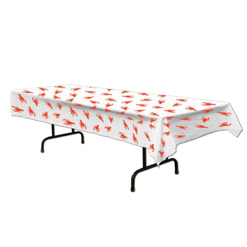 Crawfish Tablecover Party Accessory (1 count) (1/Pkg)