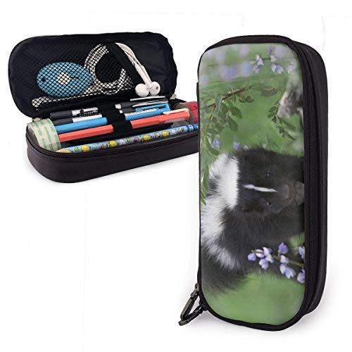 Pencil Case Mongoose Lustige süße Pencil Case Pen Case Tasche Beutel Marker Halter Briefpapier Fall Schreibtisch Organizer mit großem Stauraum für Jungen Mädchen Schule und Bürobedarf-108