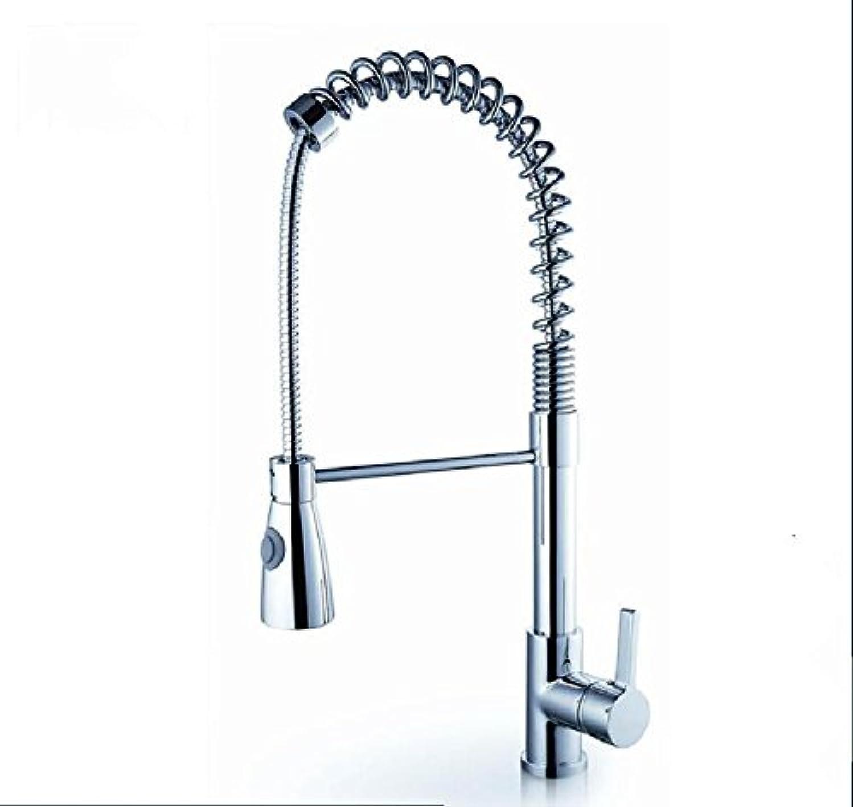 YAWEDA Wash Basin Pots Faucets, All Copper Kitchen Faucets, All Copper Spring Type Washing Basin Pots.