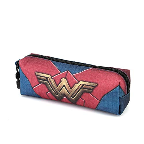 Karactermania Wonder Woman Emblem-Quadrat HS Federmäppchen Astuccio, 22 cm, Multicolore (Multicolour)