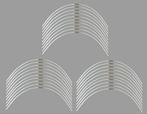 gartenteile Lot de 30 fils extra résistants - Longueur : 27 cm - Diamètre : 2,4 mm - Pour coupe-bordures sans fil Bosch Art 26 Combitrim - Extra fort