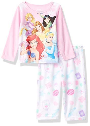 Disney Girls' Infant 2-Piece Pajama Set, Princess Dream, 12M