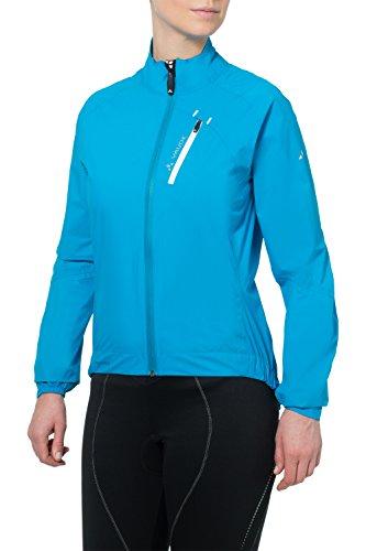VAUDE Damen Jacke Women's Sky Fly Jacket II, Teal Blue, 36, 04957