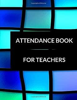 Attendance Book For Teachers