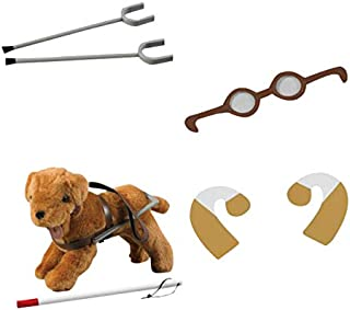 Children's Factory Diverse Abilities Equipment for Dolls, Set of 4