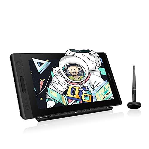 HUION Kamvas Pro 13 Tableta Grafica con Pantalla con Función de Inclinación del lápiz sin Batería PW507 y Pantalla...
