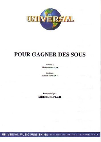 POUR GAGNER DES SOUS