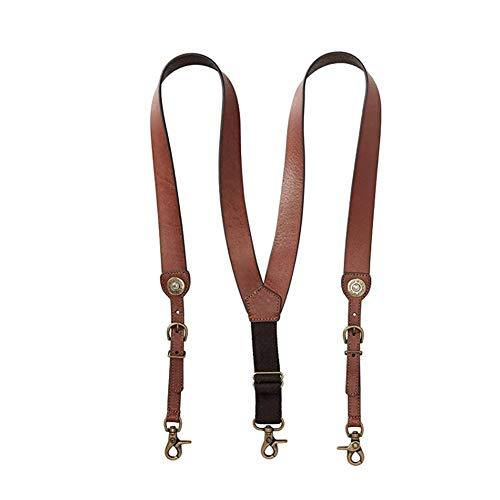 Nocona Men's Shot Shell Leather Suspender, tan, Medium