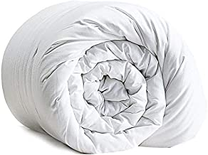 Comfy Duvet super soft all season 144 thread count cotton King (White)
