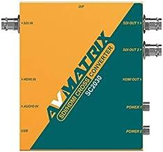 AVMATRIX SC2030 3G-SDI/ HDMI Scaling Cross Converter Input: HDMI×1 or SDI×1, Analog Audio×1 Output: 3G-SDI×2, HDMI×1