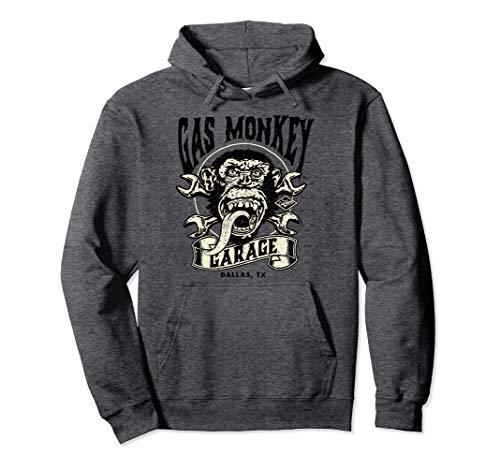 Gas Monkey Garage Wrench Cross Logo Pullover Hoodie
