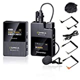 Comoca BoomX-D 2.4G - Micrófono Digital inalámbrico (emisor y Receptor de 1 transmisor, micrófono SLR, para videocámaras con Audio en Tiempo Real (D1 = TX + RX)
