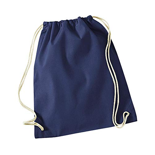 Westford Mill - Cotton Gymsac/French Navy, 46 x 36 cm