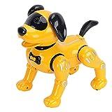 Alomejor K11 RC Robot Dog Control Remoto Robot Dog Toy Juguete Inteligente Actuar como Perros Reales Programación Interacción con Música 8+ Regalo para Cachorros para Niños
