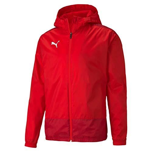 PUMA Teamgoal 23 Training Rain Jacket Chaqueta Impermeable, Hombre, Red-Chili Pepper, M