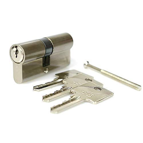 Zylinderschloss Profilzylinder Schließzylinder Türschloss inkl. 3 Schlüsseln - 40 x 50 mm