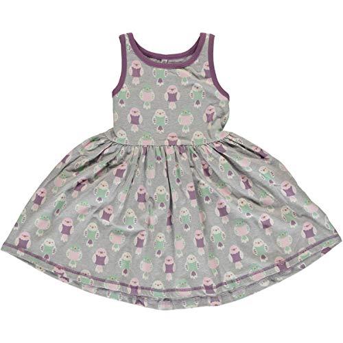 Maxomorra Girl Kleid Spin Dress Ärmellos Budgie 110/116