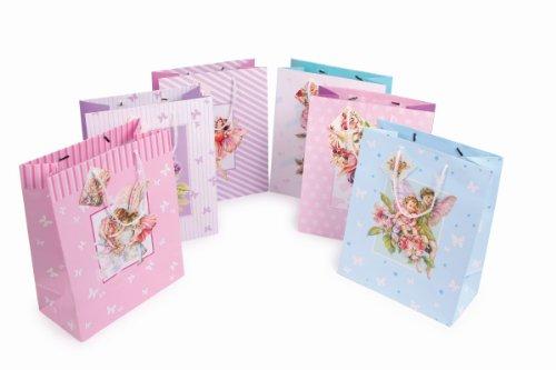 Pochettes cadeau 8349 Lot de 6 Coloris assortis