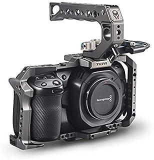 SIZOO - Photo Studio Accessories - TA-T01-B-G Full Camera Cage SSD Drive Holder Top Handle for BMPCC 4K Pocket 6K / Blackm...