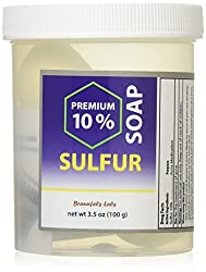 Braunfels Labs 10% Sulfur Soap in Suds Jar (3.5 oz)