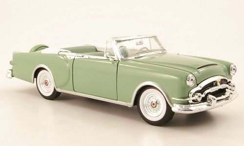 Packard Caribbean, hellgrün, 1953, Modellauto, Fertigmodell, Welly 1:24