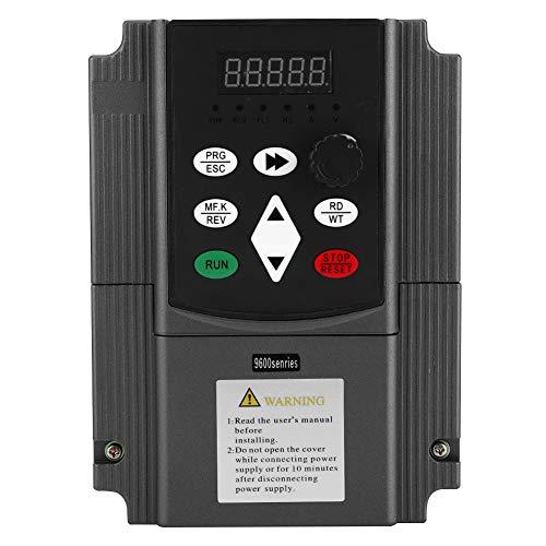 Weikeya Convertidor de frecuencia de Vector Universal, Hecho de plástico y Aluminio 160 x 115 mm 0-650Hz Convertidor de accionamiento de frecuencia