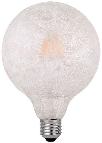 Garza Vintage Ice - Bombilla Globo Retro LED de Filamento Luz Cálida E27 4,5W