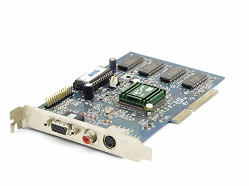 SiS 6316 GPU 3D Pro Video Board 4MB DRAM Vintage VGA Cinch AGP 3.3V Grafikkarte (Zertifiziert und Generalüberholt)