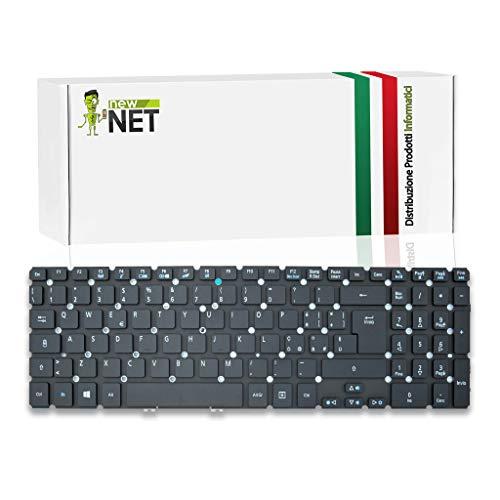 New Net Keyboards – Teclado italiano compatible con Notebook Acer Aspire V5-531 V5-531G V5-531P V5-551 V5-551G V5-571 V5-571P V5-571G V5-571PG VN7-571 VN7-571G