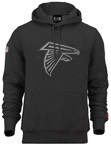 New Era Atlanta Falcons NFL Hoody Two Tone Black Heather - XXL