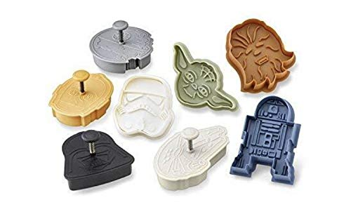 Williams Sonoma Cookie Cutter Star Wars Set of 8